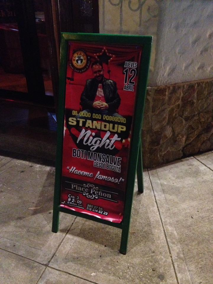 Stand-Up Night El Faro Bar - Cali (Valle)