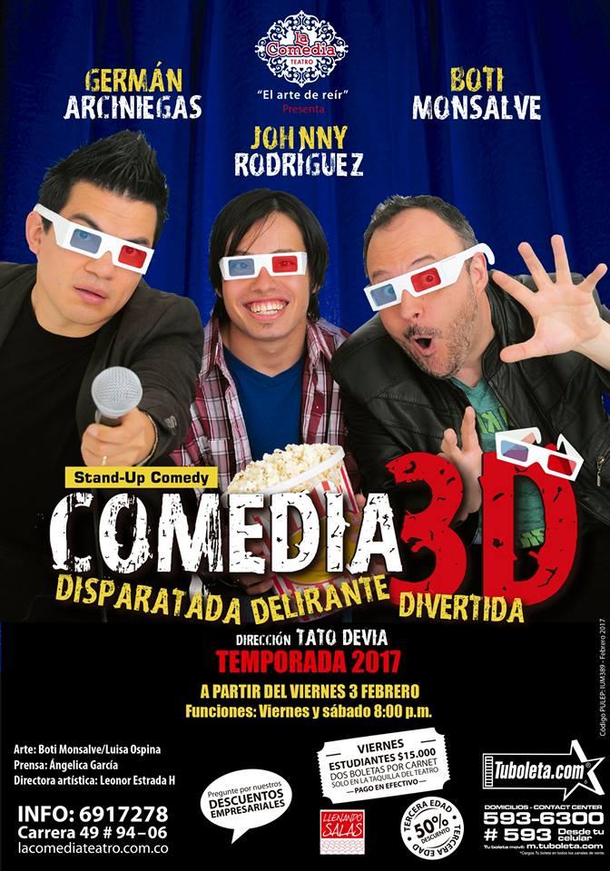 Comedia 3D